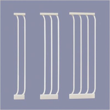 White Gate Extensions Size: Medium