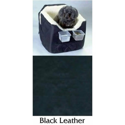 Lookout 1 Pet Car Seat Small Black Vinyl