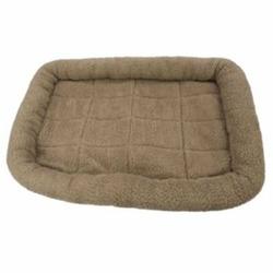 Fleece Crate Dog Bed Mushroom 35.75 x 22.75