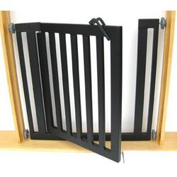 "Libro Modern Dog Gate - Pressure Mounted (32"" tall x 34""-40"" wide)"