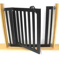 "Libro Modern Dog Gate - Pressure Mounted (32"" tall x 34""-40"" wide)"