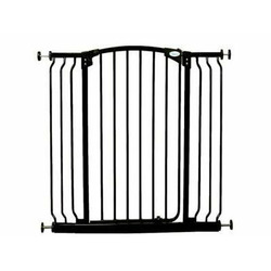 Dream Baby Tall Swinging Gate Combo Pack - (28'' - 42.5'') Black