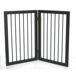 Mission Style 2 Panel Dog Gate