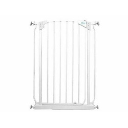 Dream Baby Tall Swinging Gate Combo Pack - (28'' - 42.5'') White