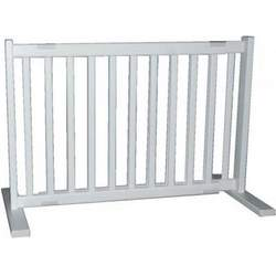 Dynamic Accents All Wood Freestanding Pet Gate Small - Warm White