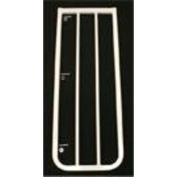 "10 1/2"" extension for the Stairway Special Baby Gate Colors: Black"