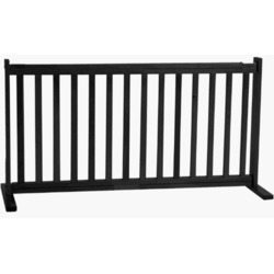 Dynamic Accents 42400 - 20 Inch All Wood Large Free Standing Gate - Black