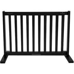 Small Free Standing Pet Gate - Black