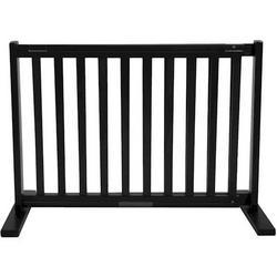 Small Free Standing Pet Gate - Black