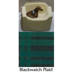 Lookout 1 Pet Car Seat Medium Blackwatch Plaid
