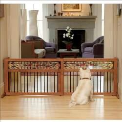 Freestanding Designer Pet Gate