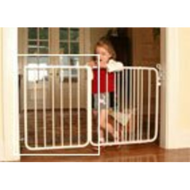 """21 3/4"""" extension for the Stairway Special Baby Gate Colors: Black"""