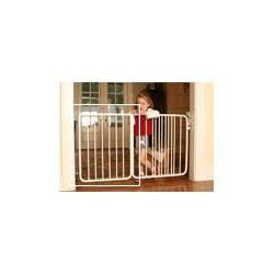"21 3/4"" extension for the Stairway Special Baby Gate Colors: Black"