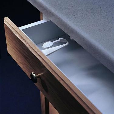 KidCo Adhesive Mount Cabinet/Drawer Lock 1ea