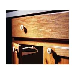 Kidco Adhesive Mount Cabinet and Drawer Lock, 6 ct.
