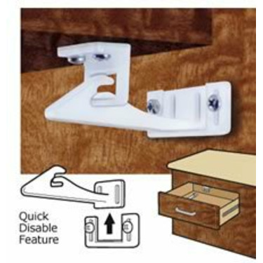 Mommy's Helper Safe-Lok Cabinet Door and Drawer Lock with Disable Feature