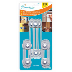 Dream Baby 3 Multi Purpose and 4 Mini Multi Purpose Latches