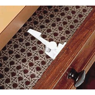 Spring Loaded Cabinet and Drawer Latch 2-pack