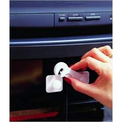 Glass Video/Display Cabinet Latch (Colors May Vary)