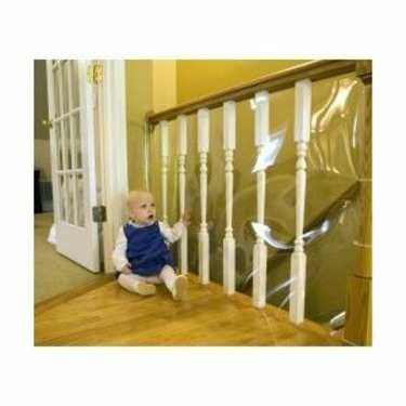 Clear Banister Guard Kit - 50 ft Roll