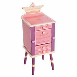 Levels Of Discovery Princess Jewelry Cabinet Pink/Purple