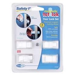 Safety 1st/dorel 71174 Magnet Tot Lock 4pk
