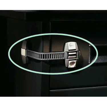 Charcoal Adjustable Locking Strap
