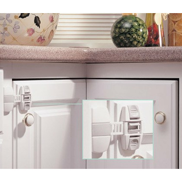 Adjustable Locking Strap Colors: White