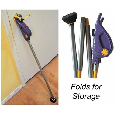 "Guard Dog - Portable Entry Door Guard with Siren Alarm (Purple/Yellow) (44""H x 5""W)"