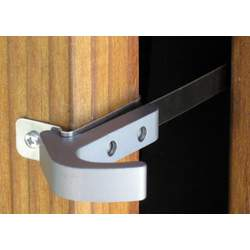 Watchdog Latch for Doors Color Choice: Pewter Gray