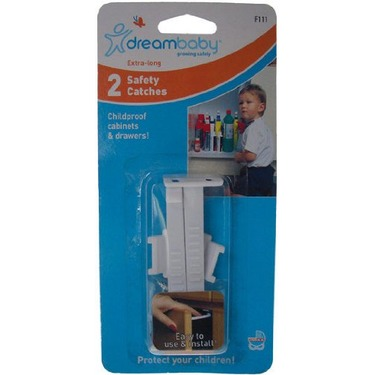 2 pack Dreambaby Cabinet Door//Drawer Safety Catches