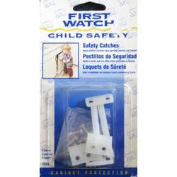 First Watch Safety Catches - Child Protection for Cabinets & Drawers