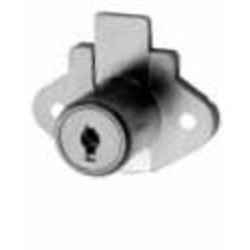 """CCL 02066-11/8KD """"BRASS- PLATED"""" DISC TUMBLER DRAWER LOCK 1-1/8"""""""