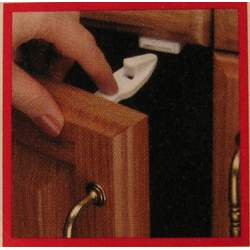 Parents Magazine Child Safety Cabinet and Drawer Latches
