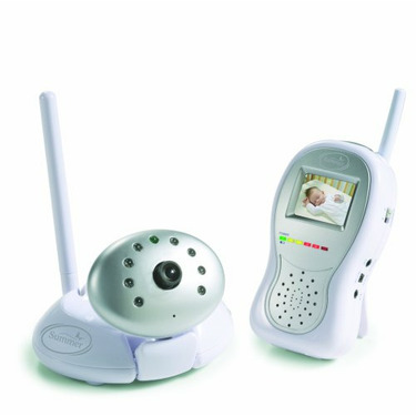 """Summer Infant Day & Night Handheld Color Video Monitor with 1.8"""" Screen - Silver"""