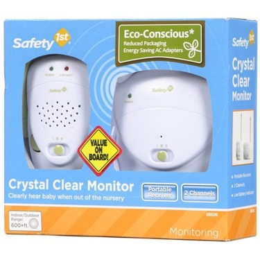 Safety 1st Crystal Clear Baby Monitor