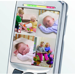 Summer Infant Sleek and Secure Handheld Color Video Monitor, Grey