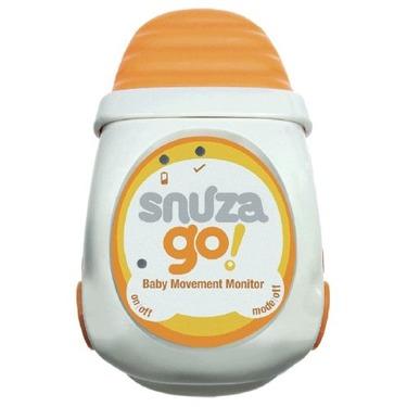 Snuza Portable Baby Movement Monitor, Orange/White, 0-12 Months