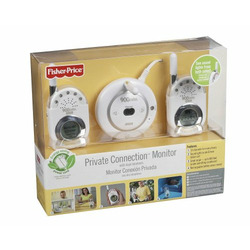 Fisher-Price Private Connection Monitor with Dual Receivers - White