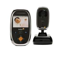 Safety 1st Prism Color Video Baby Monitor, Black