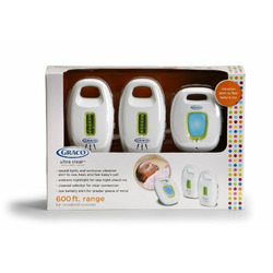 Graco UltraClear Analog Baby Monitor with 2 Parent Units