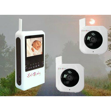 Home Sentry Interference Free 2 Camera Auto Switching Digital Monitor From Safe Baby. Auto Switching with 8 Camera Capability