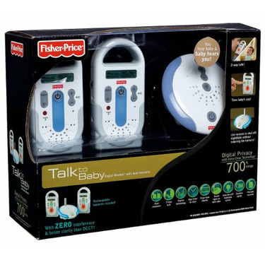 Fisher-Price Talk To Baby Digital Monitor with dual receivers