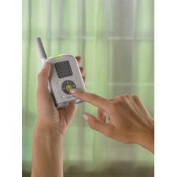 Fisher-Price Mom Response Audio Baby Monitor, 900MHz - White/Grey