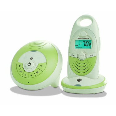 Motorola Digital Audio Baby Monitor with Room temperature Thermometer