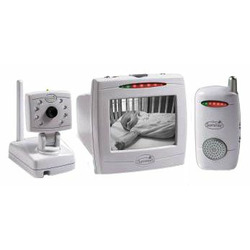 """Summer Infant Day & Night Baby Video Monitor Set with 5"""" Screen and Extra Audio Unit"""