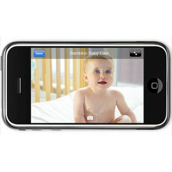Bambino Wireless Internet Baby Monitor w/iPhone, Android, and Web Viewing (Windows PC required)