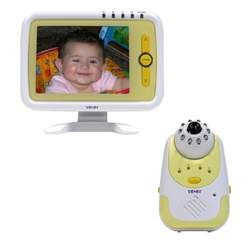 YBABY 2.4GHz Wireless Infrared Baby Monitor w/ 5.6-Inch Large LCD