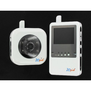ZOpid - Digital Interference-free Audio & Video Baby Monitor w/ 2.4 Inch Color Display, Night Vision & Voice Alert (Model: HS-MS340P)
