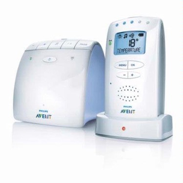 Philips Avent DECT baby monitor SCD520 - Baby monitoring system - DECT - 120-channel